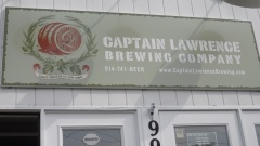 Door Banner at Captain Lawrence Brewing Company in Pleasantville NY