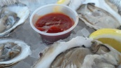 Fresh Oysters at Rowayton Seafood Fish Market in Rowayton CT