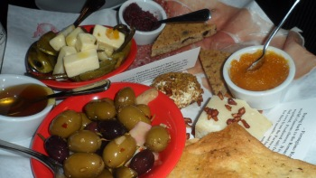 Antipasto has been proven* to elevate mood and happiness