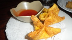 My favorite...the crab wontons :)