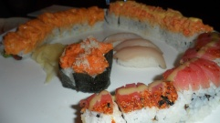 Not enough? Order more sushi and rolls!