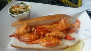 Check out lobster rolls fresh from the water