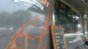LobsterCraft truck at Rowayton Farmers' Market