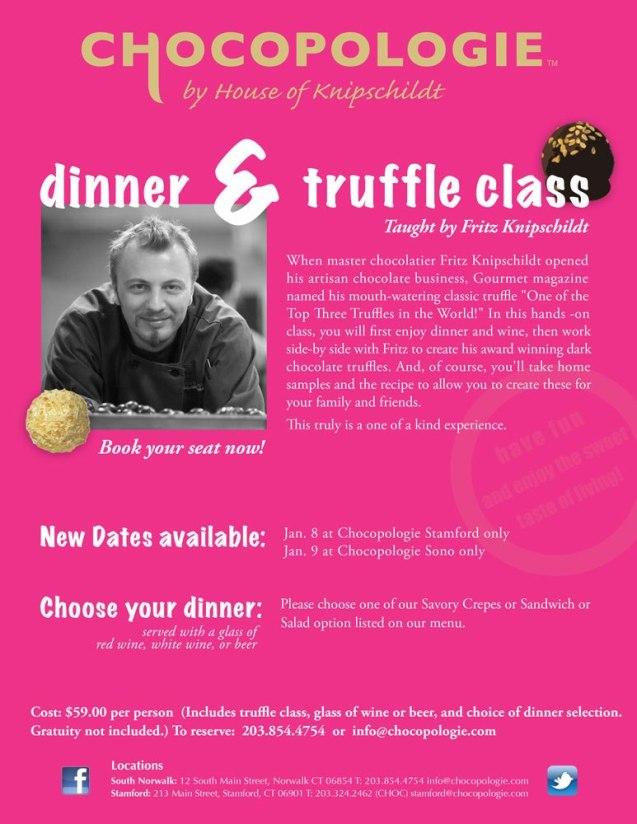 Make Truffles With Master Chocolatier Fritz Knipschildt Of