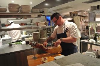 Chef Michael Lucente of Barcelona Greenwich