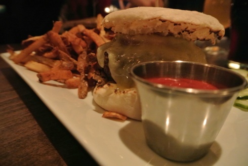 The Cask Burger at Cask Republic Stamford