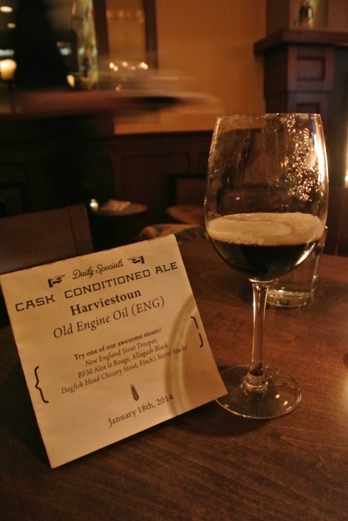 Cask Conditioned Harviestoun Old Engine Oil