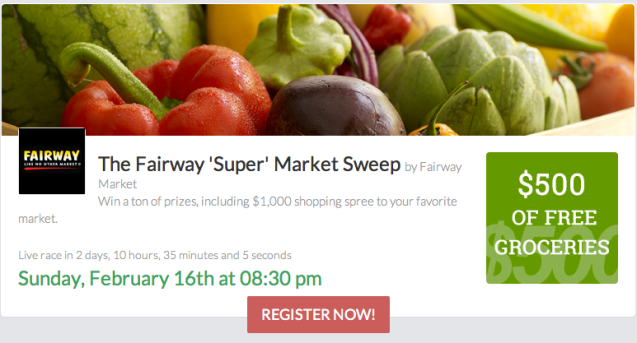 Screen Shot of Fleetwit's Fairway Market Challenge