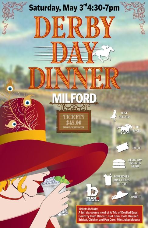 Derby Day Dinner Plan B Milford