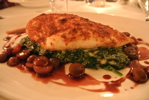 Crusted Nantucket Fluke