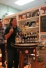 Laura Downey from Fairfield Cheese Company talks about pairing beer with cheese as Renzo looks on