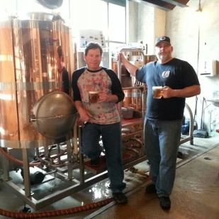 Will from Willimantic and Mark from SBC Brewing up Awesomeness