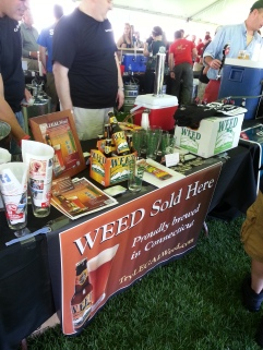 Weed Sold Here Harbor Brew Fest