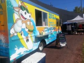 Cowabunga Food Truck at Harbor Brewfest 2013