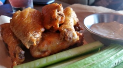 World of Beer Hot Wings