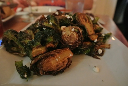 Brussels Sprouts at Craft 260 in Fairfield CT