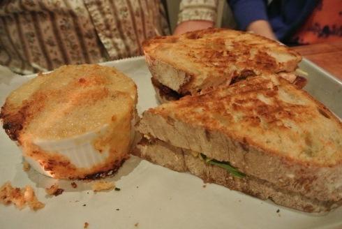 Smoked Chicken Sandwich at Craft 260 in Fairfield, CT