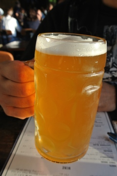 Wheat Beer at Port Chester Hall and Beer Garden