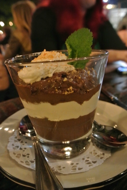 Salted Caramel Crunch Chocolate Mousse