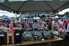"Jason Maur ""Power"" Foodie at last year's chef demos"