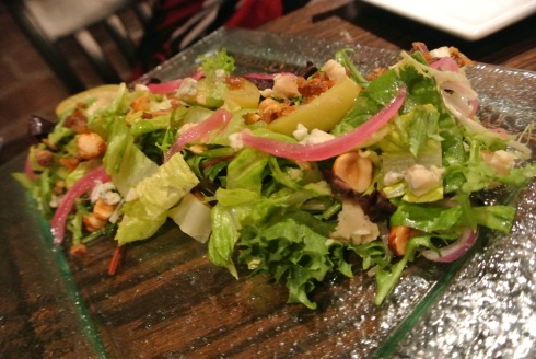 An incredibly complex (and nomworthy) salad
