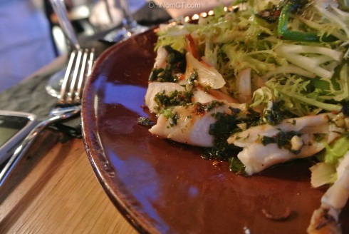 Grilled Octopus at Paloma in Stamford, CT