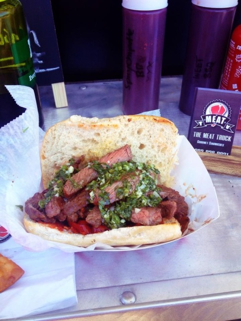 Chimichurri Steak, photo courtesy of The Meat Truck