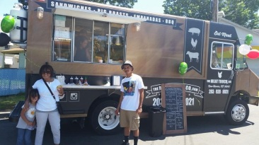 Another happy customer of The Meat Truck serving CT! photo courtesy of The Meat Truck