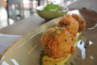 Paella Fritters at Paloma in Stamford, CT