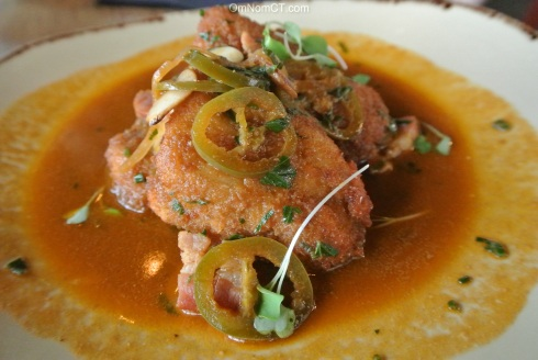 Sweetbreads at Paloma in Stamford, CT