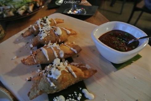 Empanadas at Paloma in Stamford, CT