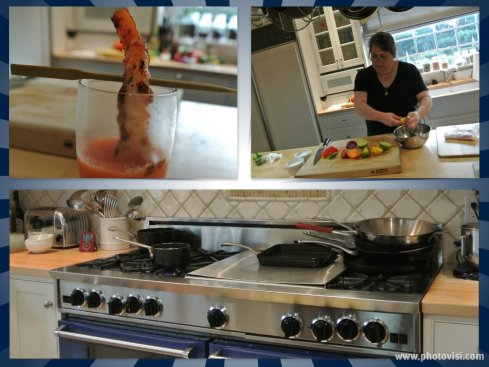 Karen operates Chop Shop classes right out of her beautiful kitchen
