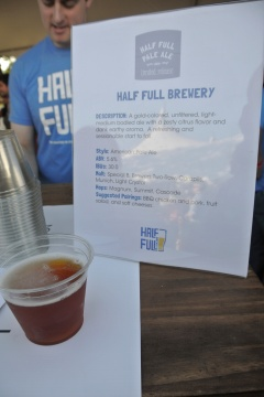 Half Full Brewery at Greenwich Wine & Food Festival