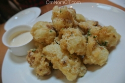 Cauliflower Fritti at Morello Bistro in Greenwich
