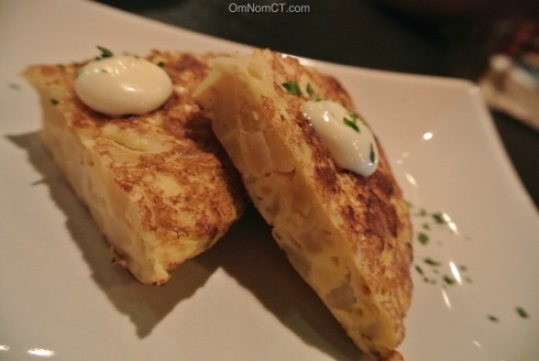 Tortilla Espanola at Ibiza in Danbury, CT