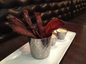 Bucket of bacon at Plan B Milford
