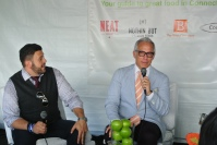 Adam Richman interviews Chef Geoffrey Zakarian. Hilarious.