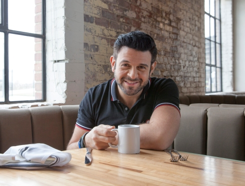 The legend, Adam Richman (Photo credit:  Travel Channel)