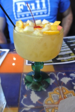 White sangria at Salsa Picante in Port Chester, NY