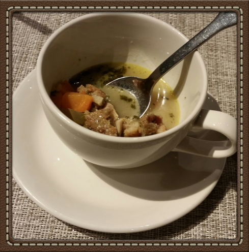 Thanksgiving Soup at The Granola Bar in Westport, CT
