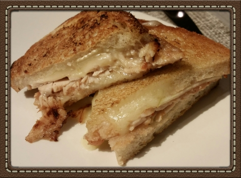 The Post Road Grilled Cheese Sandwich at The Granola Bar in Westport, CT