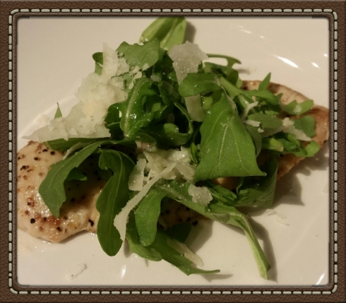Chicken Paillard at The Granola Bar in Westport, CT