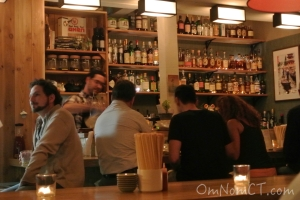 Jeff Marron runs the bar at Kawa Ni Westport