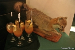 Plan B Milford Pappy Van Winkle Dinner Fox and cocktails