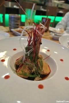 Monkfish Liver at Matsu Sushi Westport OmNomCT