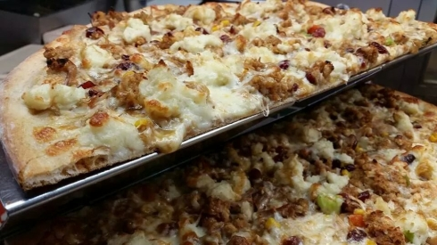 Thanksgiving Pie from Joe's Pizza in New Canaan, picture from their FB page