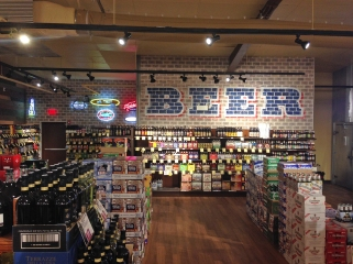 Stew Leonard's Wines & Spirits Beer Section, photo from Stew Leonard's