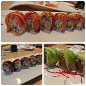 Matsu Sushi Rolls at Matsu Sushi Westport OmNomCT