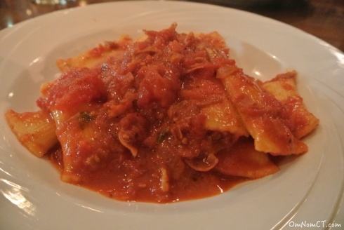 OmNomCT Viale Review Stuffed Rigatoni
