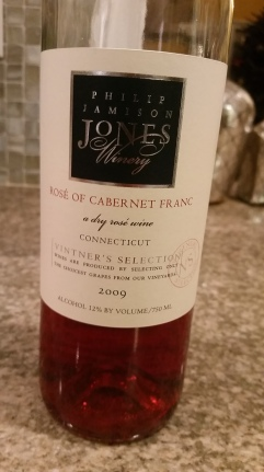 Jones Winery Shelton CT Rose Cab Franc
